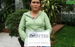 Trao gần 70 triệu cho người mẹ có con tai nạn nguy kịch vừa qua đời