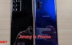 Video thực tế của Galaxy Note20 Ultra tiết lộ nhiều thông tin thú vị
