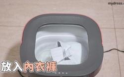 Trải nghiệm thực tế máy giặt có khả năng gấp gọn Xiaomi Moyu