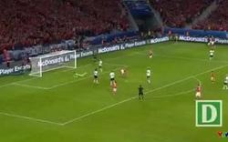 Robson-Kanu ghi bàn thắng tuyệt đẹp vào lưới Bỉ ở vòng tứ kết