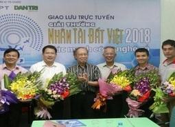 """Chùm ảnh Giao lưu trực tuyến """"Giải thưởng Nhân tài đất Việt – Sức mạnh công nghệ Số"""""""