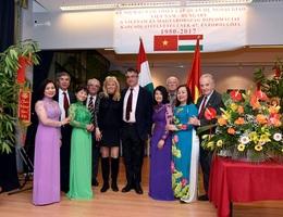 Người Việt tại Hungary đón Tết trong tình quê hương ấm áp