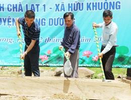 Khởi công xây dựng cầu Dân trí thứ 13 tại Nghệ An