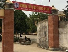 Học sinh lớp 1 tử vong bất thường tại trường