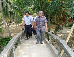 Chuẩn bị khởi công xây dựng cầu Dân trí thứ 14 tại tỉnh Trà Vinh