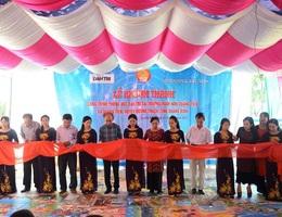Khánh thành công trình phòng học Dân trí thứ 17 tại Quảng Bình