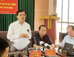Thí sinh con em lãnh đạo Hà Giang bị sụt gần chục điểm sau rà soát