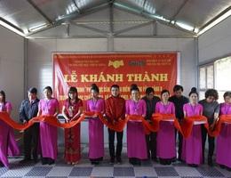 Khánh thành công trình phòng học Dân trí thứ 15 tại Chiềng Kheo