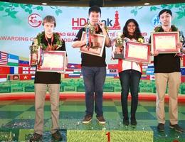 Wang Hao (Trung Quốc) vô địch giải cờ vua quốc tế HDBank 2019