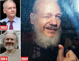 Sự thay đổi kinh ngạc của ông chủ WikiLeaks sau 7 năm lẩn trốn
