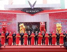 VinFast chính thức khánh thành nhà máy ôtô