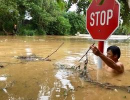 Nước lũ dâng cao, 1 người mất tích, hơn 700 hộ dân sơ tán