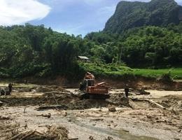 Thêm 2 thi thể bị lũ cuốn trôi được tìm thấy trên sông