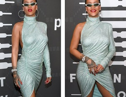 Rihanna tái xuất bốc lửa và quyến rũ