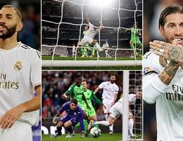 """Giành chiến thắng """"5 sao"""", Real Madrid áp sát Barcelona"""