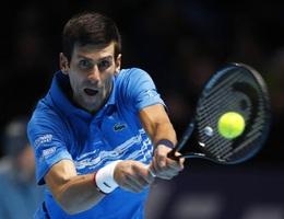 "ATP Finals: Thua Thiem, Djokovic buộc phải ""tử chiến"" với Federer"