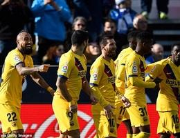 Luis Suarez lập công, Barcelona tiếp tục dẫn đầu La Liga