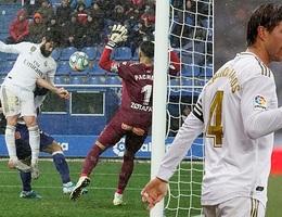 Ramos tỏa sáng, Real Madrid tạm chiếm ngôi đầu bảng La Liga