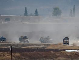 Xe bọc thép của Nga trúng bom ở Syria