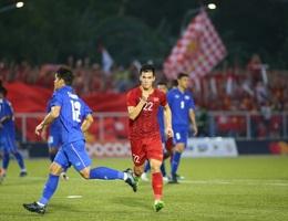 Hòa U22 Thái Lan, U22 Việt Nam vào bán kết với ngôi đầu bảng