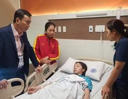 Tuyển thủ nữ Việt Nam kiệt sức, nhập viện cấp cứu