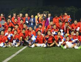 Đại thắng trước U22 Indonesia, U22 Việt Nam lần đầu tiên vô địch SEA Games