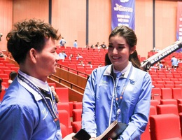 Á hậu Huyền My kể chuyện làm thiện nguyện tại Đại hội Hội LHTN Việt Nam