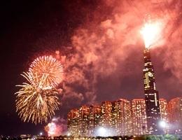 TPHCM bắn pháo hoa tại 7 điểm chào đón năm mới Canh Tý 2020