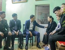Truy tặng 3 chiến sĩ hy sinh ở Đồng Tâm Huân chương Chiến công Hạng Nhất