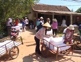 Quảng Bình phân bổ hơn 800 tấn gạo cho người dân ăn Tết