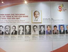 """""""Tự hào 90 năm Đảng Cộng sản Việt Nam - một chặng đường vẻ vang"""""""