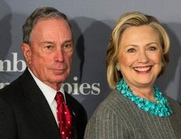 """Rộ tin đồn tỷ phú Bloomberg muốn bà Clinton trở thành """"phó tướng"""""""