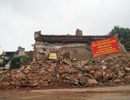 Cảnh tan hoang tại trạm phát sóng Bạch Mai trước ngày lập hồ sơ di tích