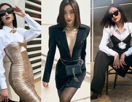 """Hoa hậu Đỗ Mỹ Linh """"lạ lẫm"""" với phong cách mới"""