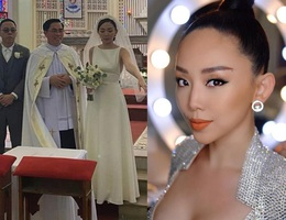 Tóc Tiên lên tiếng giãi bày lý do đám cưới bí mật kiểm soát an ninh