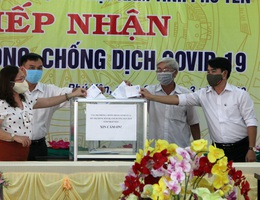 Công đoàn ngành GD Phú Yên kêu gọi toàn ngành ủng hộ chống dịch Covid-19
