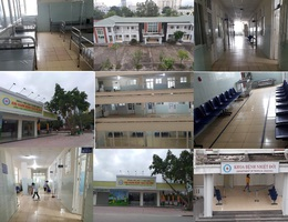 Hình ảnh hiếm thấy trong bệnh viện giữa mùa dịch