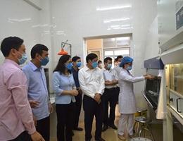 Sở Y tế Thái Bình nói về việc đàm phán giảm giá máy xét nghiệm Covid-19
