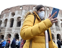 Số người mắc Covid-19 tại Italia tăng thấp nhất 3 tuần