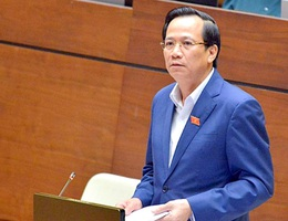 """Bộ trưởng Đào Ngọc Dung: """"Khó trục lợi từ tiền vay trả lương cho lao động"""""""