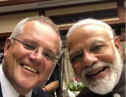 """Ấn Độ-Australia """"nắm tay nhau thật chặt"""" trong bối cảnh địa chính trị đầy biến động"""