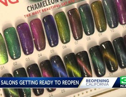 California cho mở cửa lại tiệm nail, chủ tiệm gốc Việt bớt căng thẳng