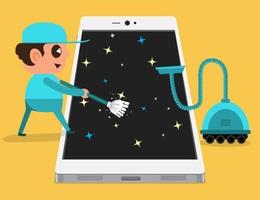 Ứng dụng dọn dẹp file rác giúp tiết kiệm dung lượng lưu trữ trên smartphone