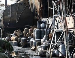 Bộ Tư lệnh hóa học đang phân tích mẫu hóa chất trong vụ cháy ở Long Biên