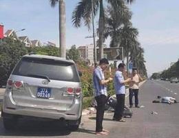 Vụ xe biển xanh tông cô gái: Xe của Ủy ban Kiểm tra Tỉnh ủy Nghệ An