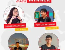 Bốn sinh viên Việt Nam chiến thắng giải công nghệ của Google