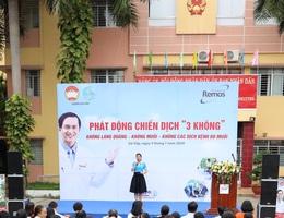 Remos phối hợp Hội Phụ Nữ phát động chiến dịch phòng chống muỗi