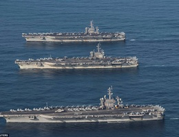 Mỹ sẽ điều hai tàu sân bay tới Biển Đông diễn tập