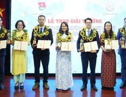10 tài năng khoa học công nghệ trẻ được trao giải Quả Cầu Vàng 2019