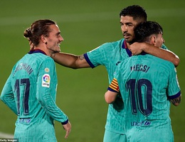 Messi và Griezmann giải tỏa bất hòa, Barcelona tiếp tục thăng hoa?